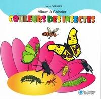 Jocya Cornier - Couleurs des insectes - Album à colorier.