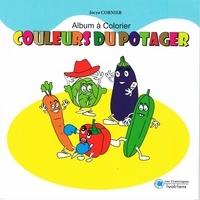 Jocya Cornier - Couleurs du potager - Album à colorier.
