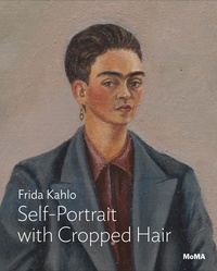 Jodi Roberts - Kahlo - Self-portrait with cropped hair.