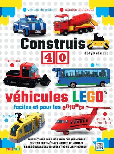 Construis 40 Véhicules Lego Faciles Et Pour Les Enfants Grand Format