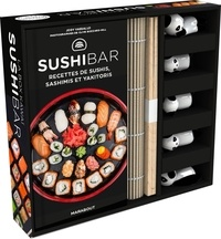 Jody Vassollo - La box kawaï sushibar - Avec 5 paires de baguettes, 5 porte-baguettes, 1 natte en bambou.