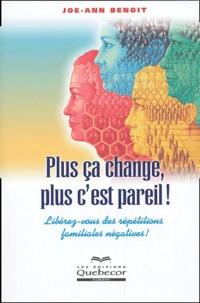 Goodtastepolice.fr Plus ça change, plus c'est pareil! - Libérez-vous des répétitions familiales négatives! Image