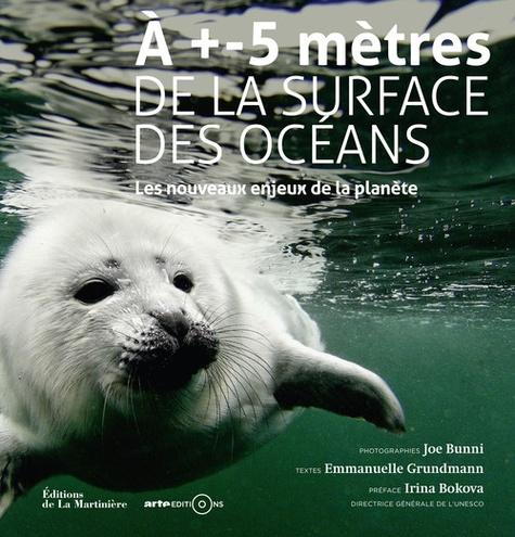 Joe Bunni et Emmanuelle Grundmann - A +- 5 mètres de la surface des océans - Les nouveaux enjeux de la planète.