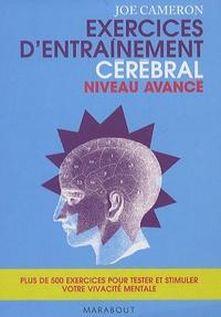 Joe Cameron - Coffret Exercices d'entraînement cérébral, 2 volumes.