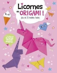 Joe Fullman et Sam Loman - Licornes en origami ! - Plus de 20 modèles faciles + 24 feuilles de papier origami offertes.