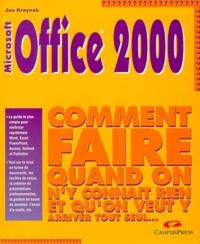 Histoiresdenlire.be MICROSOFT OFFICE 2000. Comment faire quand on n'y connait rien et qu'on veut y arriver tout seul Image
