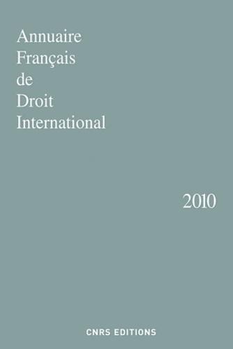 Joe Verhoeven - Annuaire français de droit international - Tome 56.