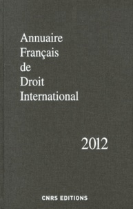 Deedr.fr Annuaire français de droit international - Tome 58 Image