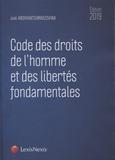 Joël Andriantsimbazovina - Code des droits de l'homme et des libertés fondamentales.