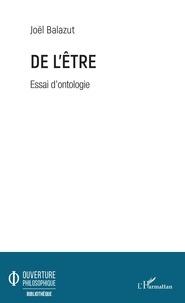 Livres téléchargés sur iphone De l'Être  - Essai d'ontologie  9782140142666