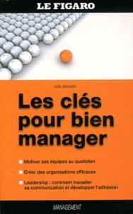 Joel Berger - Les clés pour bien manager.