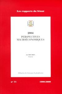 Joël Bourdin - Impressions. 1999-2000 / Sénat Tome 71 - Rapport d'information sur les perspectives macroéconomiques à moyen terme, 1999-2004.