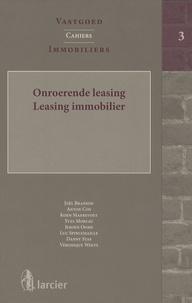 Joël Branson - Leasing immobilier - Edition bilingue français-hollandais.