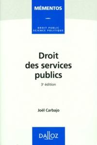 Histoiresdenlire.be DROIT DES SERVICES PUBLICS. 3ème édition 1997 Image