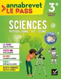 Joël Carrasco et Gaëlle Cormerais - Annabrevet Le Pass - Sciences 3e.