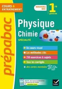 Télécharger le livre pdf joomla Physique-chimie 1re (spécialité) - Prépabac Cours & entraînement  - nouveau programme de Première