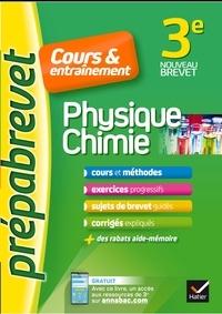 Joël Carrasco et Gaëlle Cormerais - Physique-chimie 3e - Prépabrevet Cours & entraînement - cours, méthodes et exercices progressifs.