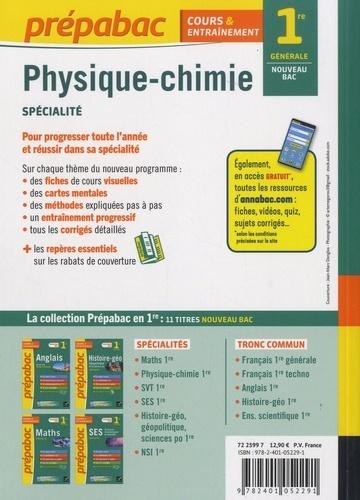 Physique-Chimie spécialité 1re générale