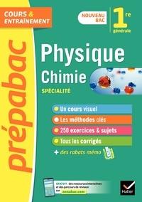 Joël Carrasco et Alexandra Chauvin - Prépabac Physique-chimie 1re générale (spécialité) - nouveau programme de Première.