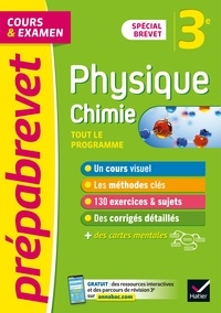 Joël Carrasco et Gaëlle Cormerais - Prépabrevet Physique-Chimie 3e Brevet 2022 - cours, méthodes et entraînement.