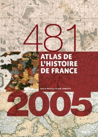 Lemememonde.fr Atlas de l'histoire de France (481-2005) Image