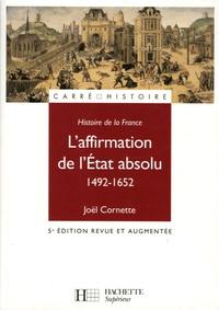 Accentsonline.fr L'affirmation de l'Etat absolu 1492-1652 Image