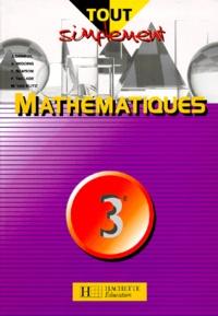 Joël Denieuil et Alain Redding - Mathématiques, 3e.