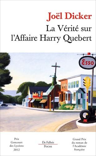 La Verite Sur L Affaire Harry Quebert Poche