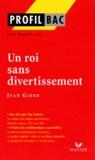 Joël Dubosclard - Un roi sans divertissement de Jean Giono.