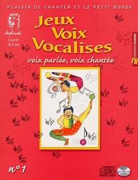 Joël Genetay - Jeux, voix et vocalises - Voies pour la voix n° 1. 1 CD audio