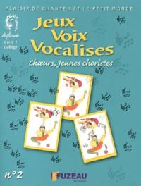 Joël Genetay - Jeux, voix, vocalises - N° 2, Choeurs, jeunes choristes. 1 CD audio