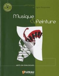Joël Genetay et Agnès Rainjonneau - Musique & peinture. 1 CD audio