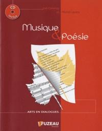 Joël Genetay et Michel Lautru - Musique & poésie. 1 CD audio