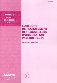 Joël Goyheneix - Concours de recrutement des conseillers d'orientation-psychologues - Concours externe.