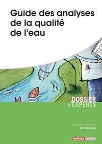 Joël Graindorge - Guide des analyses de la qualité de l'eau.