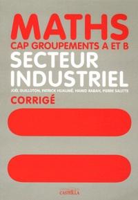 Galabria.be Mathématiques CAP groupements A et B secteur industriel - Livre du professeur Image