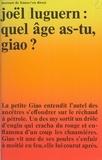 Joël Luguern - Quel âge as-tu, Giao ?.