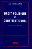 Joël Mekhantar - Droit politique et constitutionnel.
