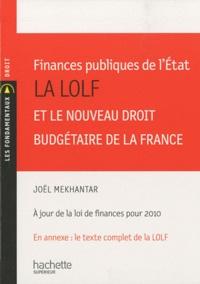 Finances publiques de lEtat - La LOLF et le nouveau droit budgétaire de la France.pdf