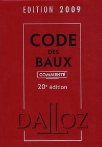 Joël Monéger - Code des baux 2009 commenté.