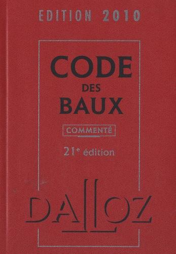 Joël Monéger - Code des baux 2010.