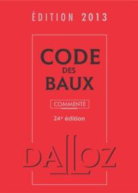 Joël Monéger et Nicolas Damas - Code des baux 2013, commenté.