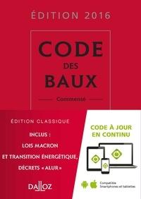 Joël Monéger et Nicolas Damas - Code des baux - Commenté.
