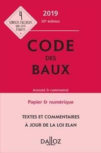 Joël Monéger et Nicolas Damas - Code des baux - Annoté & commenté.