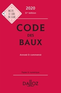 Code des baux- Annoté et commenté - Joël Monéger pdf epub