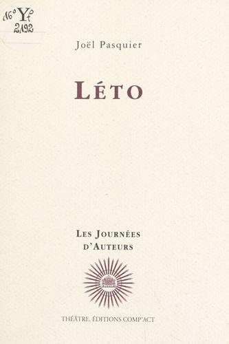 Joël Pasquier - Léto.