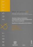 Joël Rideau et Constance Grewe - Sanctions ciblées et protections juridictionnelles des droits fondamentaux dans l'Union européeenne : équilibres et déséquilibres de la balance.