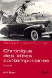 Joël Roman - Chronique des idées contemporaines - Itinéraire guidé à travers 300 textes choisis.
