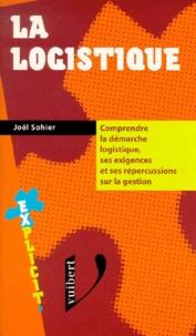 Joël Sohier - La logistique.