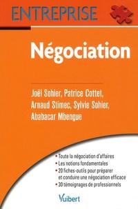 Joël Sohier et Patrice Cottet - Négociation.
